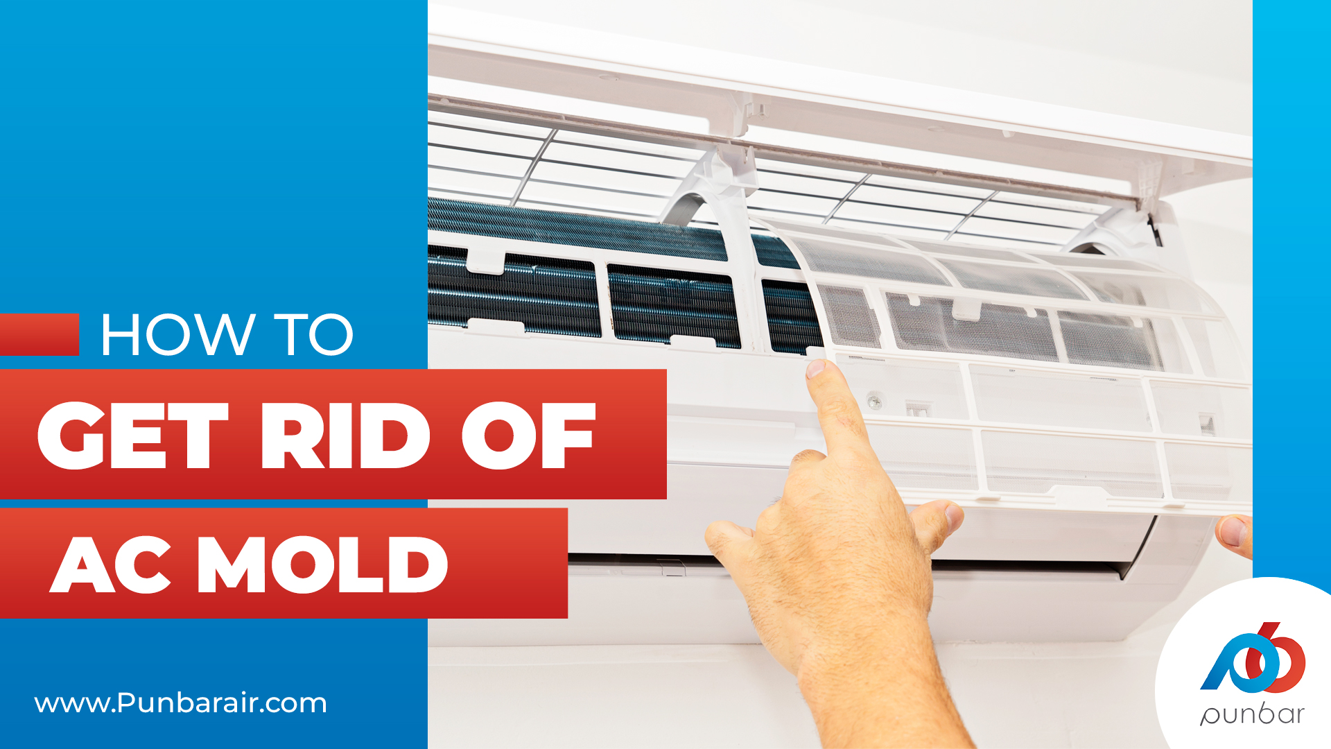 HOW TO GET RID OF AC MOLD