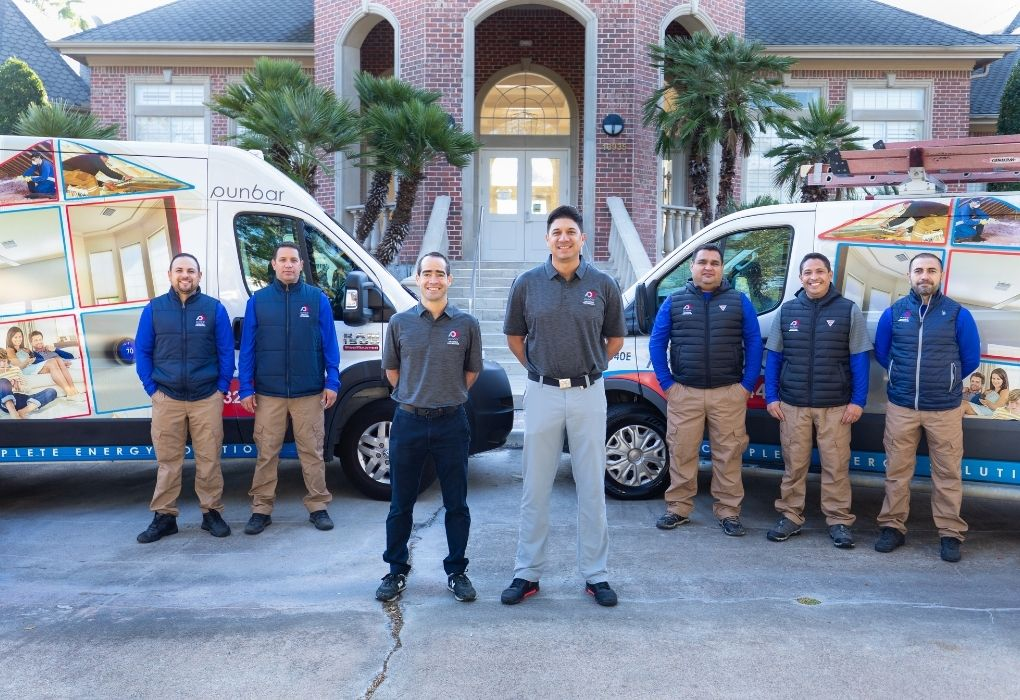 Team of engineers Houston